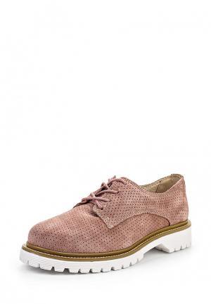 Ботинки Bronx. Цвет: розовый