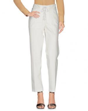 Повседневные брюки BARBARA BUI. Цвет: белый