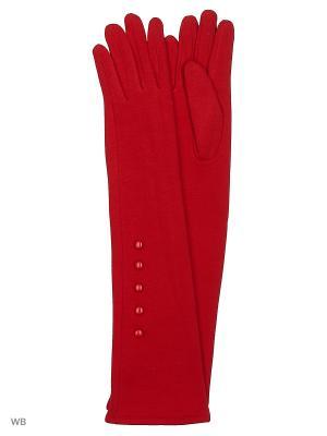 Перчатки Palantini. Цвет: красный