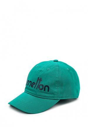 Бейсболка United Colors of Benetton. Цвет: зеленый