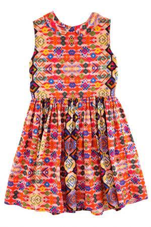 Платье MORLEY. Цвет: красный
