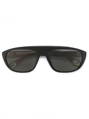 Солнцезащитные очки  × Ann Demeulemeester Linda Farrow. Цвет: чёрный