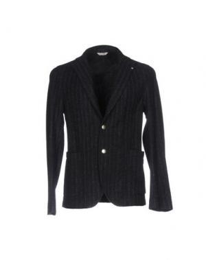 Пиджак MANUEL RITZ. Цвет: темно-синий