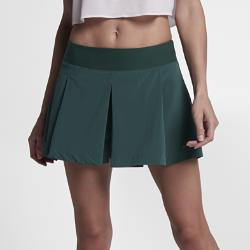 Теннисная юбка-шорты Court Flex Nike. Цвет: зеленый