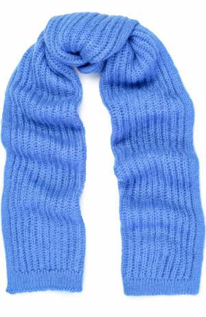 Вязаный шарф Tak.Ori. Цвет: голубой