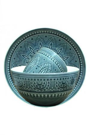 Набор посуды 3 предмета TONGO. Цвет: серый