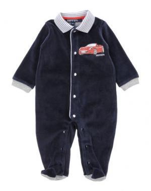 Детский комбинезон FERRARI. Цвет: темно-синий