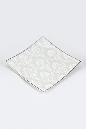 Набор 6 тарелок 16 см Royal Porcelain. Цвет: белый, серый