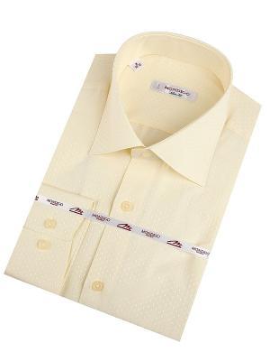 Рубашка MONDIGO. Цвет: светло-желтый
