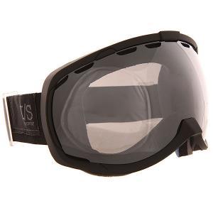 Маска для сноуборда  Bomber Stealth Mtb Silver/Smoke I/S Eyewear. Цвет: черный
