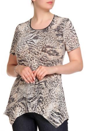 Блуза RITA PFEFFINGER. Цвет: принт