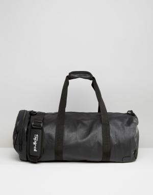 Spiral Черная сумка из искусственной кожи. Цвет: черный
