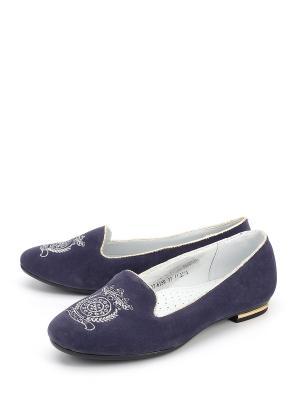 Туфли Антилопа. Цвет: синий