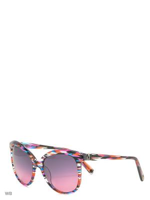 Солнцезащитные очки MM 616S 02 Missoni. Цвет: красный