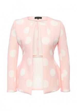 Жакет Disash. Цвет: розовый