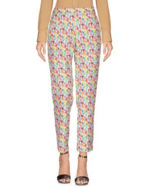 Повседневные брюки AU JOUR LE. Цвет: белый