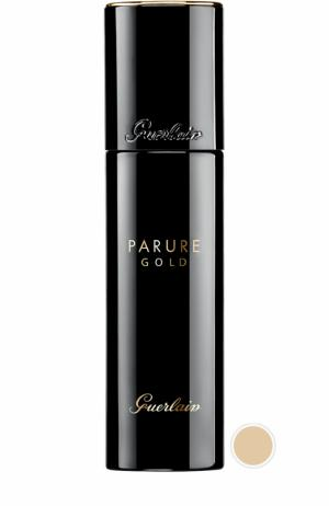 Тональное средство Parure Gold, оттенок 01 Слоновая кость Guerlain. Цвет: бесцветный