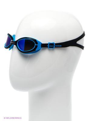Очки Simpler II Mad Wave. Цвет: серый, голубой