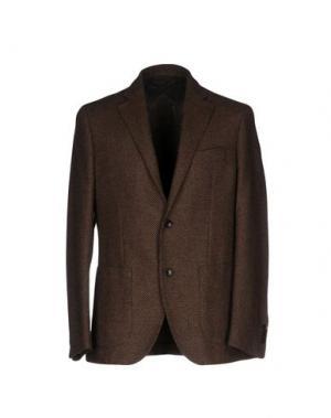 Пиджак SARTORIA LATORRE. Цвет: темно-коричневый
