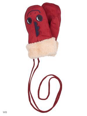 Варежки Mini. Цвет: красный