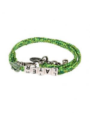 Браслет VENESSA ARIZAGA. Цвет: светло-зеленый