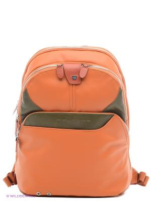 Рюкзак PIQUADRO. Цвет: оранжевый