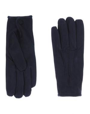 Перчатки MELINDAGLOSS. Цвет: темно-синий