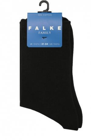 Носки из хлопка Falke. Цвет: черный