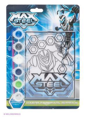 Витражная картинка Max Steel Centrum. Цвет: синий