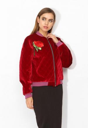 Куртка утепленная Tutto Bene. Цвет: красный
