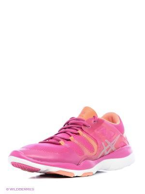 Кроссовки GEL-FIT VIDA ASICS. Цвет: розовый, сиреневый