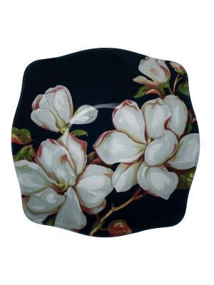 Салатник 22,5 см Elff Ceramics. Цвет: черный, белый