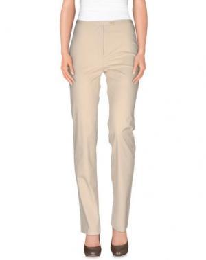 Повседневные брюки DREAM. Цвет: бежевый