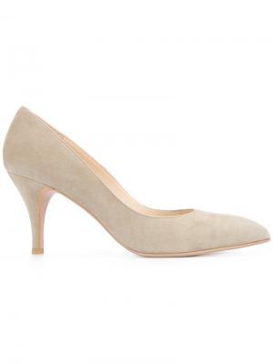 Туфли-лодочки на шпильке Estnation. Цвет: серый