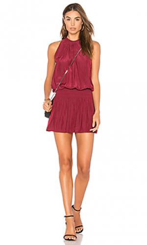 Платье без рукавов paris RAMY BROOK. Цвет: красный