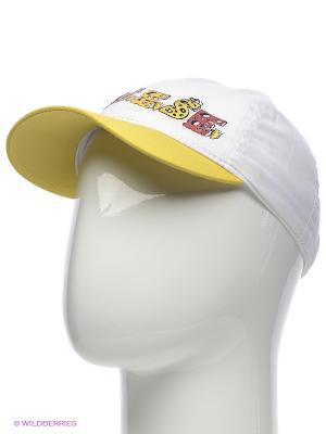 Бейсболка Maxval. Цвет: белый, желтый