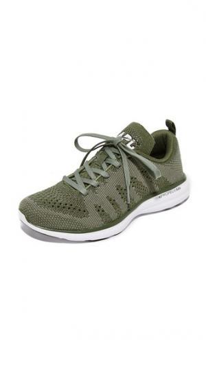 Кашемировые кроссовки Techloom Pro APL: Athletic Propulsion Labs. Цвет: защитный