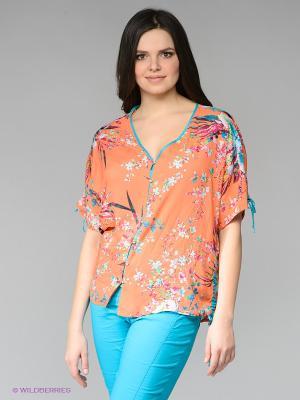 Блузка ARDATEX. Цвет: оранжевый