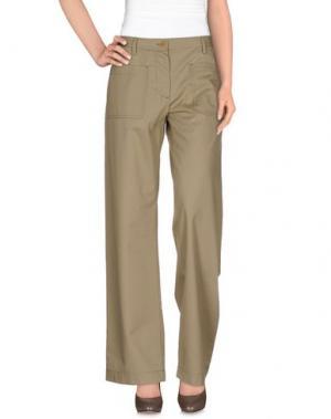 Повседневные брюки PEACHOO+KREJBERG. Цвет: бежевый