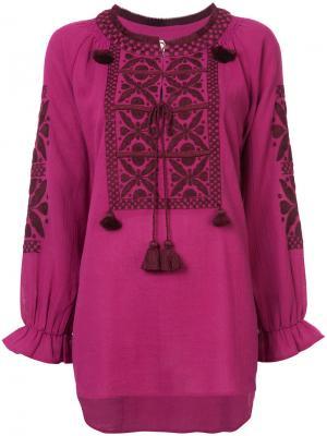 Топ Lou Figue. Цвет: розовый и фиолетовый