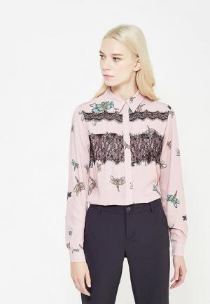 Блуза Blugirl Folies. Цвет: розовый
