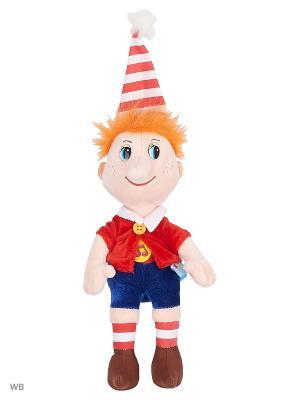 Мягкая игрушка Буратино. Мульти-пульти. Цвет: красный, синий, оранжевый