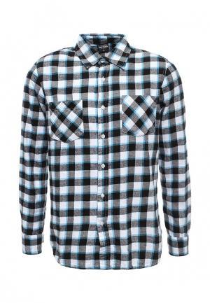 Рубашка Urban Classics. Цвет: серый