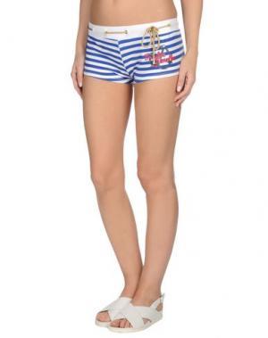 Пляжные брюки и шорты FRANKIE MORELLO SEXYWEAR. Цвет: синий