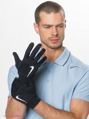 Перчатки HYPERWARM FIELD PLAYER GLOVE Nike. Цвет: черный