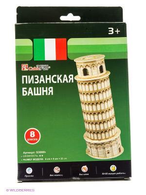 Игрушка  Пизанская башня (Италия)(мини серия) CubicFun. Цвет: белый, красный