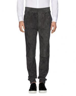 Повседневные брюки STOULS. Цвет: стальной серый