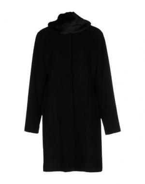 Пальто CORTE DEI GONZAGA. Цвет: черный
