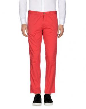Повседневные брюки BASICON. Цвет: красный