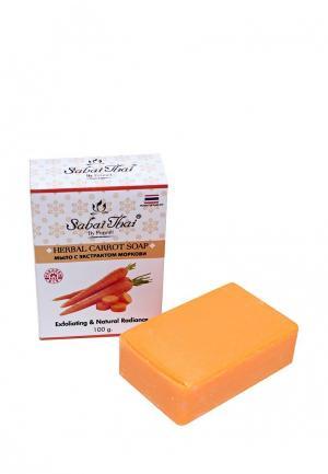Мыло Sabai Thai Authentic SPA. Цвет: оранжевый